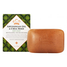 Abyssinian & Chia Seed Bar Soap with Amaranth Extract and Ginseng
