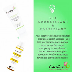 Pack adoucissant & fortifiant - Carolina-B