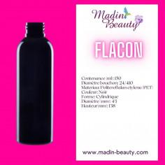 Flacon PET Noir 150ml