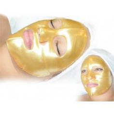 Masque visage au collagene OR