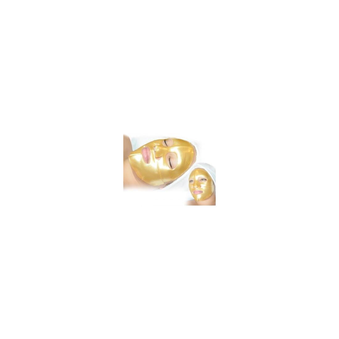 masque visage au collagene or madin beauty. Black Bedroom Furniture Sets. Home Design Ideas