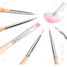 Kit de pinceaux pour Nail art