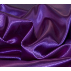 Taie d'oreiller en satin violet