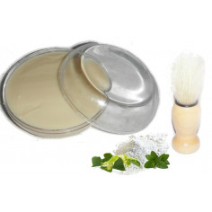 Pack Savon de rasage Argile Blanche - Menthe - Tea Trea